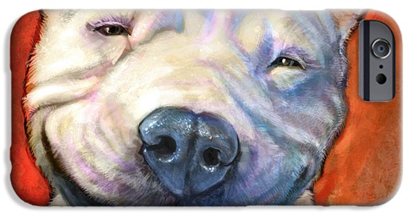Dog iPhone Cases - Smile iPhone Case by Sean ODaniels