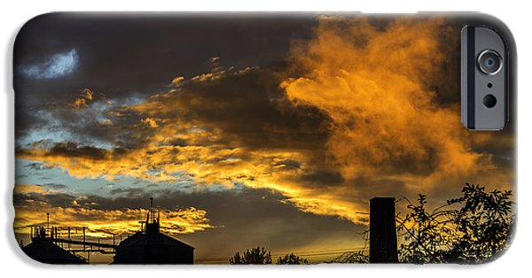 IPhone 6 Case featuring the photograph Smoky Sunset by Jeremy Lavender Photography