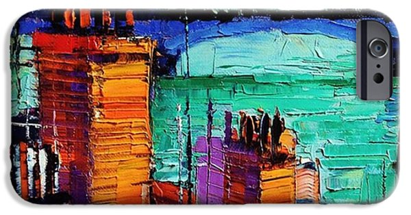 Architecture iPhone 6 Case - Sneak Peek Close-up Of A New by Mona Edulesco