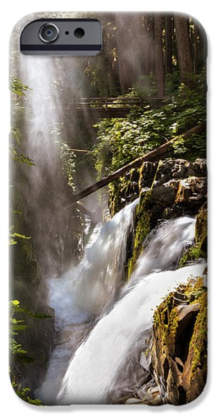 IPhone 6 Case featuring the photograph Sol Duc Falls by Adam Romanowicz