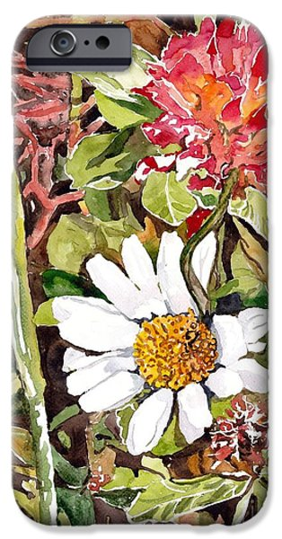 Smoothie iPhone 6 Case - Somewhere In The Grass by Suzann Sines