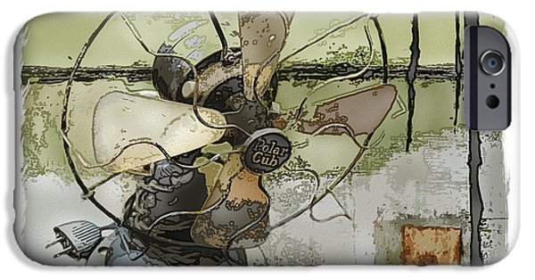 Recently Sold -  - Abstract Digital Mixed Media iPhone Cases - Sooo Cool  iPhone Case by Bob Salo
