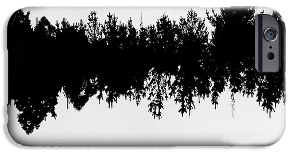 Sound Waves Made Of Trees Reflected IPhone 6 Case