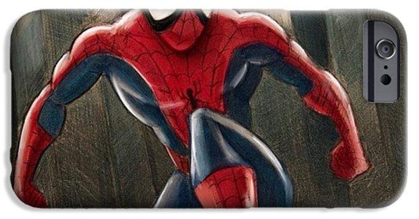 Amazing iPhone 6 Case - Spider-man by Tony Santiago