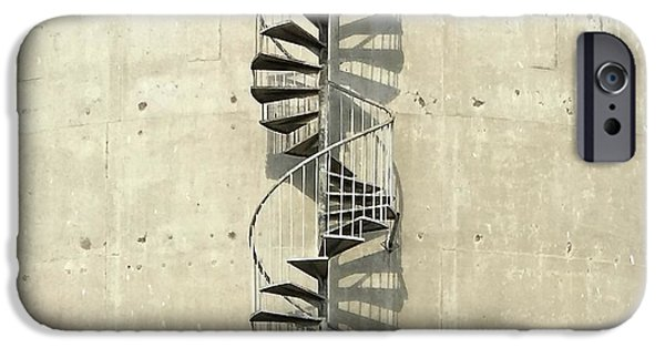 iPhone 6 Case - Spiral Staircase by Julie Gebhardt