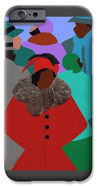 iPhone 6 Case - Spirit Of Zora by Synthia SAINT JAMES
