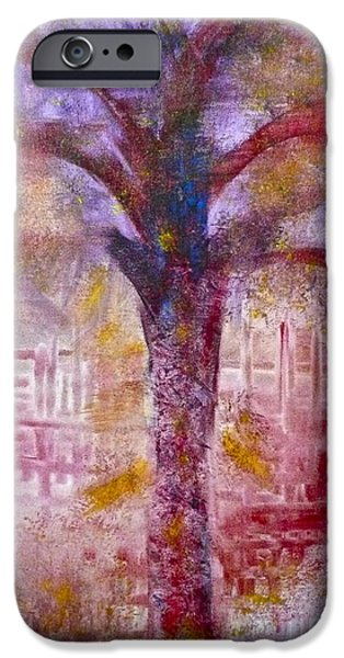 IPhone 6 Case featuring the painting Spirit Tree by Claire Bull