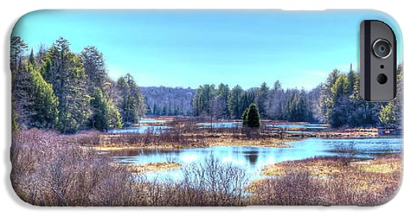 IPhone 6 Case featuring the photograph Spring Scene At The Tobie Trail Bridge by David Patterson