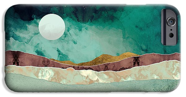 Landscapes iPhone 6 Case - Spring Night by Katherine Smit
