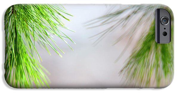 IPhone 6 Case featuring the photograph Spring Pine Abstract by Christina Rollo