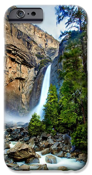 Flora iPhone Cases - Spring Valley iPhone Case by Az Jackson
