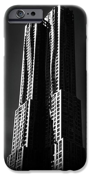 IPhone 6 Case featuring the photograph Spruce Street By Gehry by Jessica Jenney
