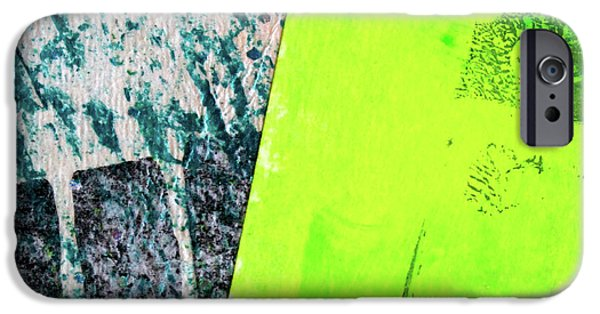 IPhone 6 Case featuring the mixed media Square Collage No 1 by Nancy Merkle