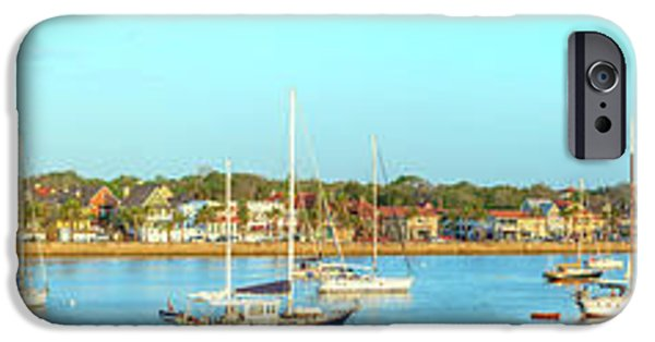 IPhone 6 Case featuring the photograph St Augustine Panorama by Sebastian Musial