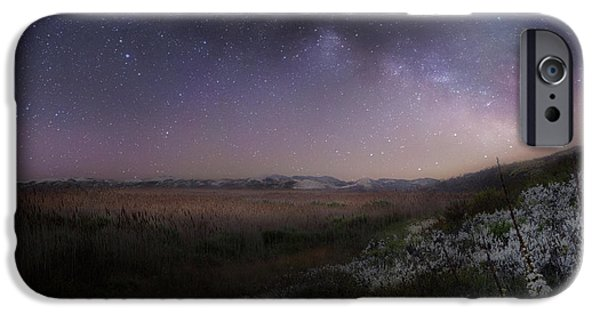 IPhone 6 Case featuring the photograph Star Flowers Square by Bill Wakeley