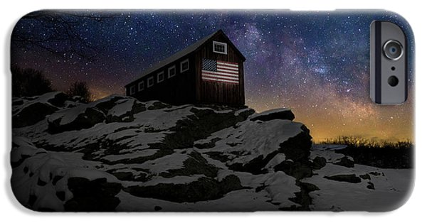 IPhone 6 Case featuring the photograph Star Spangled Banner by Bill Wakeley