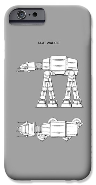 Yoda iPhone 6 Case - Star Wars - At-at Patent by Mark Rogan