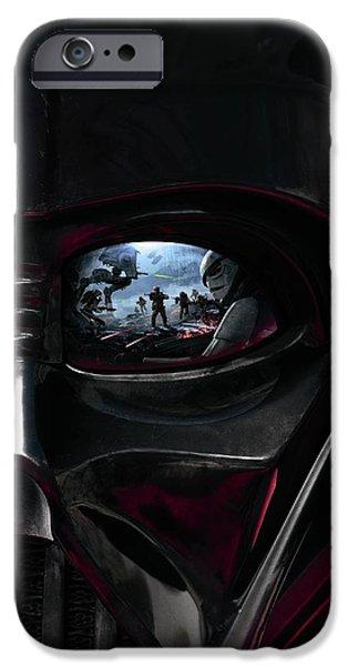 Yoda iPhone 6 Case - Star Wars Battlefront 2015 by Geek N Rock