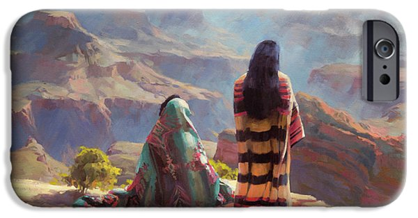 Grand Canyon iPhone 6 Case - Stillness by Steve Henderson