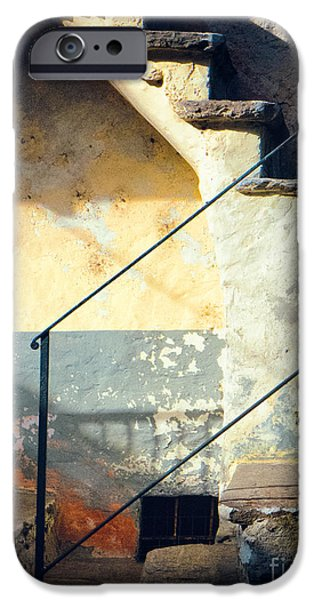 IPhone 6 Case featuring the photograph Stone Steps Outside An Old House by Silvia Ganora