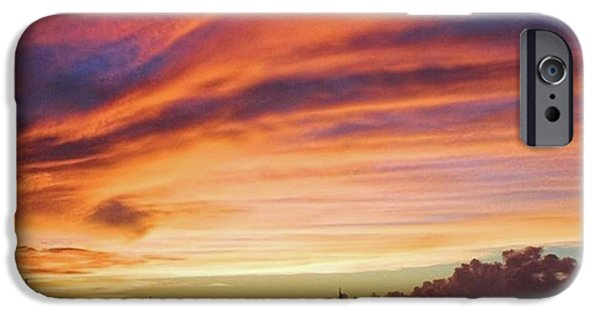 Sky iPhone 6 Case - Store Bay, Tobago At Sunset #view by John Edwards