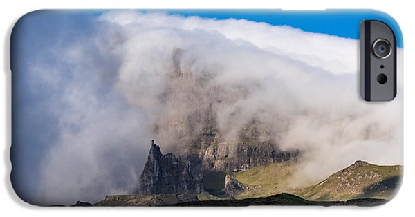 IPhone 6 Case featuring the photograph Storr In Cloud by Gary Eason