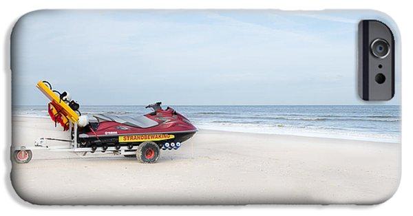 Jet Ski iPhone 6 Case - Strandbewaking by Hannes Cmarits