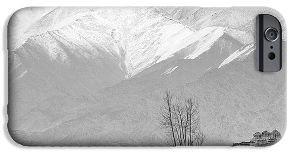 Stupa And Trees IPhone 6 Case by Hitendra SINKAR