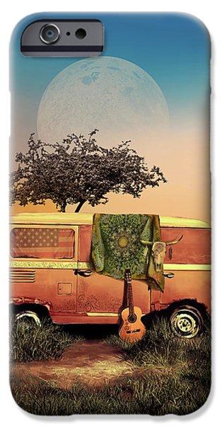 Folk Art iPhone 6 Case - Summer Landscape by Bekim Art