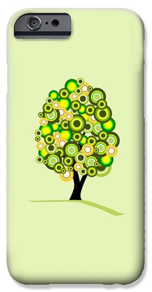 Tree iPhone 6 Case - Summer Tree by Anastasiya Malakhova