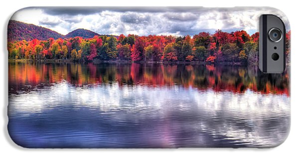 IPhone 6 Case featuring the photograph Sun Streaks On West Lake by David Patterson