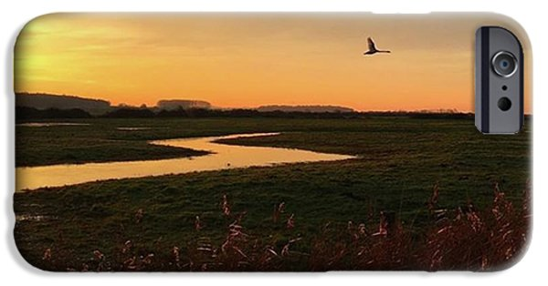 Sky iPhone 6 Case - Sunset At Holkham Today  #landscape by John Edwards
