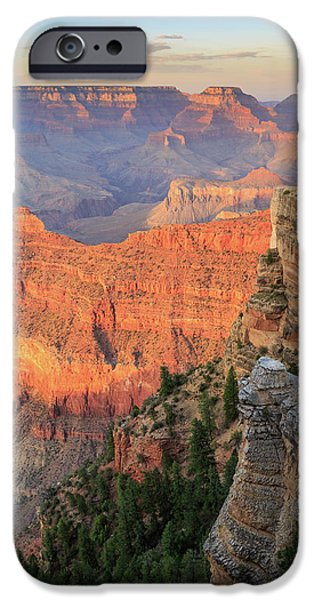 Sunset At Mather Point IPhone 6 Case by David Chandler
