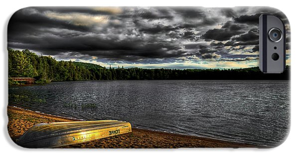 Sunset At Nicks Lake IPhone 6 Case by David Patterson