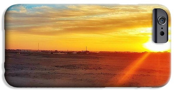 Landscapes iPhone 6 Case - Sunset In Egypt by Usman Idrees