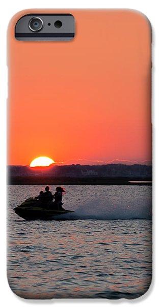 Jet Ski iPhone 6 Case - Sunset On The Ski by Ryan Crane