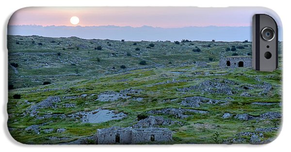 Sunset Over A 2000 Years Old Village IPhone 6 Case by Dubi Roman