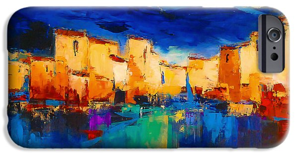 Sunset Over The Village IPhone 6 Case