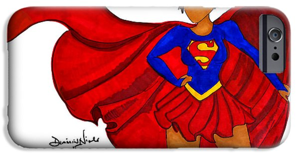 Superwoman I Am  IPhone 6 Case by Diamin Nicole