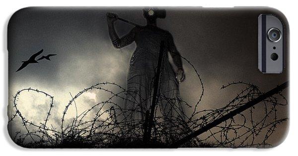 Terrorism iPhone Cases - Survivorman iPhone Case by Stylianos Kleanthous