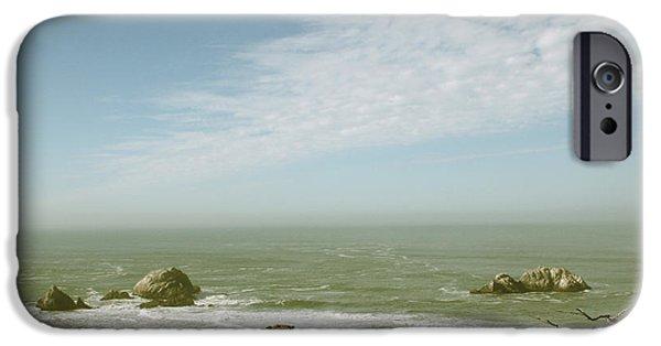 Pacific Ocean iPhone 6 Case - Sutro Baths San Francisco by Linda Woods