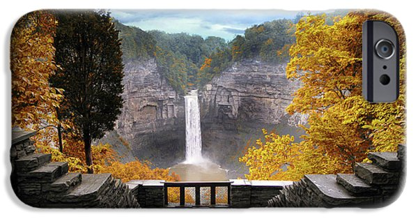 Taughannock In Autumn IPhone 6 Case by Jessica Jenney