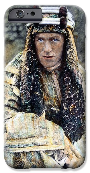 Archaeologists iPhone Cases - T.e. Lawrence (1888-1935) iPhone Case by Granger