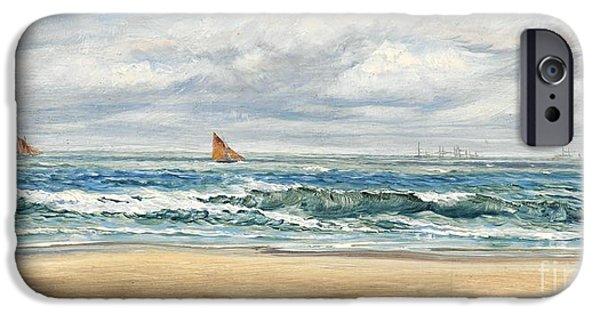 Water Ocean iPhone 6 Case - Tenby by John Brett