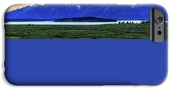 Teton Sunset IPhone 6 Case by David Chandler
