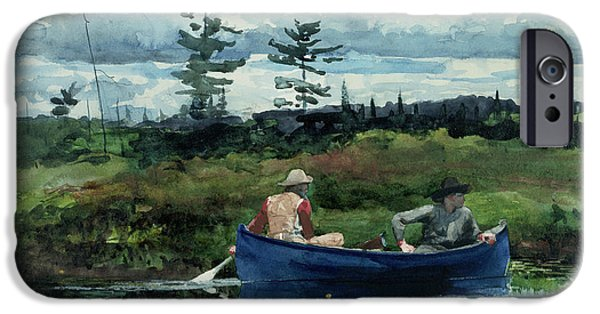 20th iPhone 6 Case - The Blue Boat by Winslow Homer