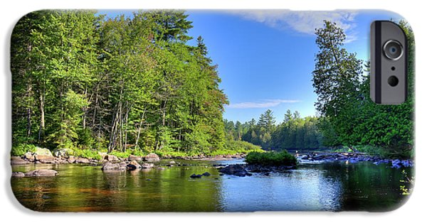 IPhone 6 Case featuring the photograph The Calm Below Buttermilk Falls by David Patterson