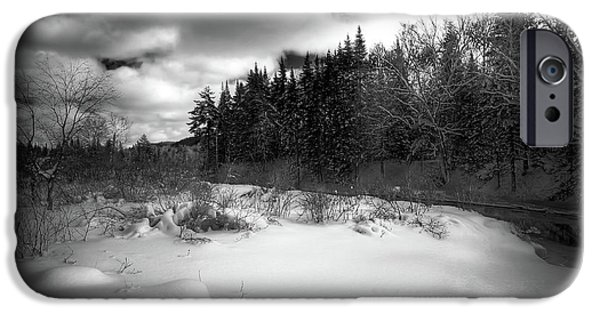 IPhone 6 Case featuring the photograph The Calm Of Winter by David Patterson