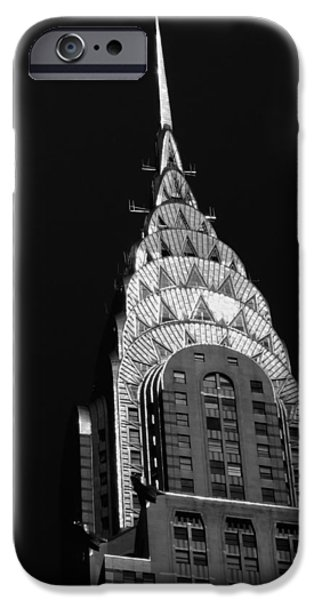Art Deco iPhone Cases - The Chrysler Building iPhone Case by Vivienne Gucwa