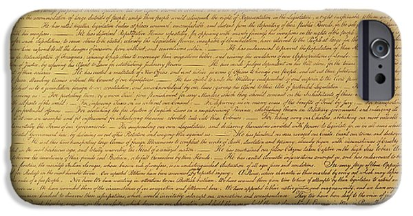 The Declaration Of Independence IPhone 6 Case